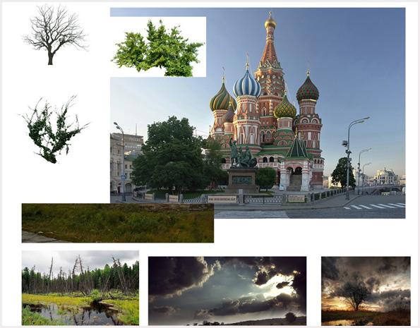 Пейзажи апокалиптической Москвы | Храм