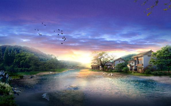 Волшебные пейзажи от китайских художников