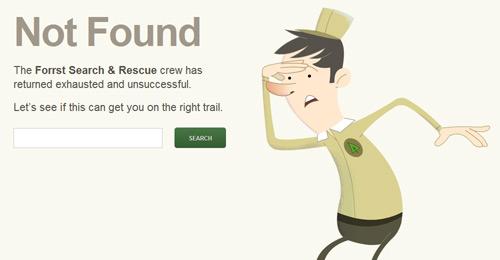 Примеры эффективных страниц 404 ошибки
