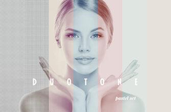 Цветокорекция: получаем приглушенные, нежные цвета  (Photoshop effect)
